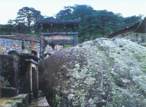 三清山风景区主要景点介绍